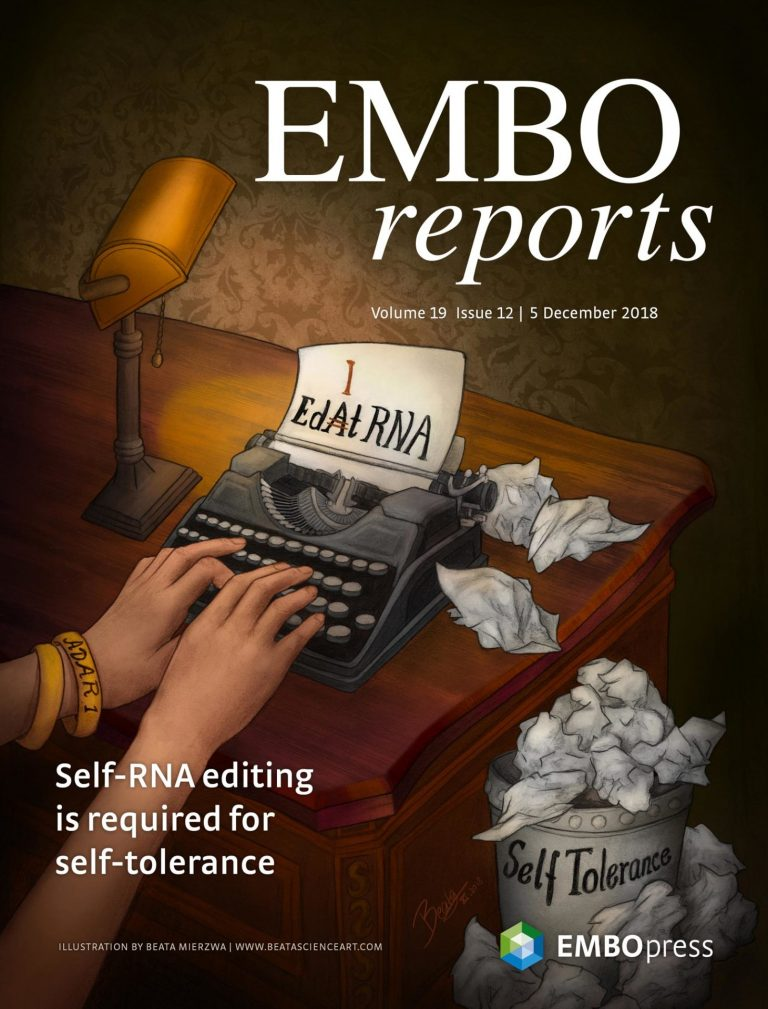 EMBO Reports Cover